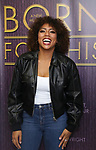 "Liisi LaFontaine backstage after a Song preview performance of the Bebe Winans Broadway Bound Musical ""Born For This"" at Feinstein's 54 Below on November 5, 2018 in New York City."