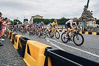Picture by Russell Ellis/russellis.co.uk/SWpix.com - image archived on 25/04/2019 Cycling Tour de France 2018 - Team Sky at the Tour de France - STAGE 21: HOUILLES - PARIS Champs-Elysées 29/07/2018<br /> -