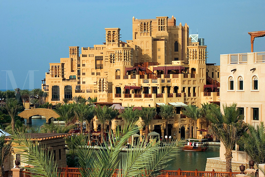 Dubai, United Arab Emirates. Al Qasr Hotel, Madinat Jumeirah. Souk.