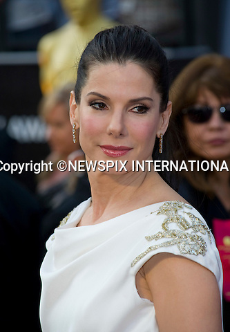 """OSCARS 2012 - SANDRA BULLOCK.84th Academy Awards arrivals, Kodak Theatre, Hollywood, Los Angeles_26/02/2012.Mandatory Photo Credit: ©Dias/Newspix International..**ALL FEES PAYABLE TO: """"NEWSPIX INTERNATIONAL""""**..PHOTO CREDIT MANDATORY!!: NEWSPIX INTERNATIONAL(Failure to credit will incur a surcharge of 100% of reproduction fees)..IMMEDIATE CONFIRMATION OF USAGE REQUIRED:.Newspix International, 31 Chinnery Hill, Bishop's Stortford, ENGLAND CM23 3PS.Tel:+441279 324672  ; Fax: +441279656877.Mobile:  0777568 1153.e-mail: info@newspixinternational.co.uk"""
