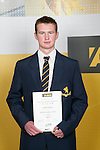 Boys Squash winner Cameron Jamieson. ASB College Sport Young Sportperson of the Year Awards 2007 held at Eden Park on November 15th, 2007.