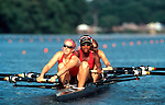 Rowing, High School women rowing at the National Championships, Camden New Jersey, women's four,.