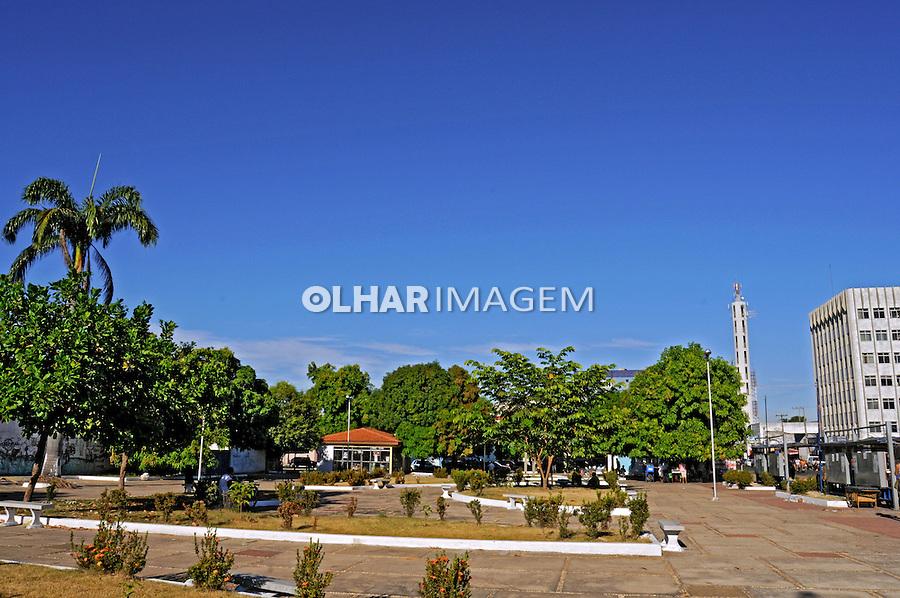 Praça na cidade de Imperatriz. Maranhão. 2008. Foto de Rogério Reis.