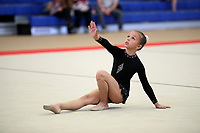 Unknown gymnast (???) Level-5 (club?) @ LA Cup 2017. (Advise please for correct ID, thanks!)