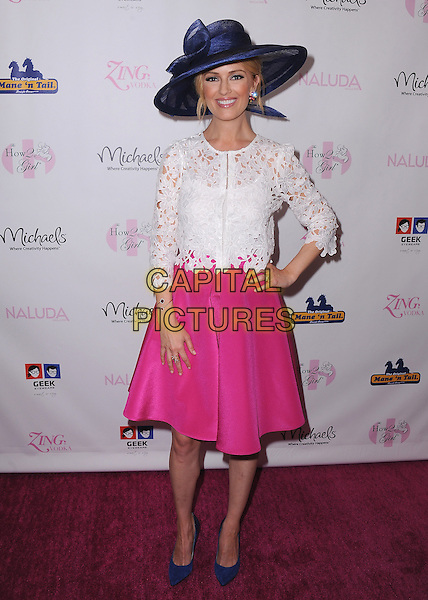 WESTLAKE VILLAGE, CA - MAY 3:   Brooke Anderson at the How2Girl Kentucky Derby Ladies Luncheon at the Four Seasons Westlake Village on May 3, 2014 in Westlake Village, California.   <br /> CAP/MPI/PGSK<br /> &copy;PGSK/MediaPunch/Capital Pictures