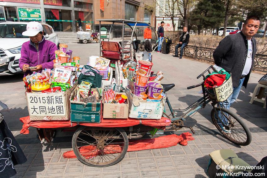 Sterrt vendor in Datong, China