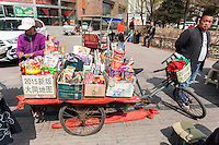 Sterrt vendor in Datong, China