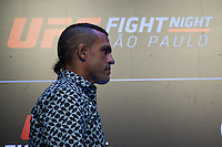 SÃO PAULO, SP, 05.11.2015 - UFC-SP -  Vitor Belfort durante encarada no UFC Media Day, no hotel Hilton, na zona sul de São Paulo, na manhã desta quinta-feira, 05. (Foto: Adriana Spaca/Brazil Photo Press)