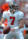 JEFF GARCIA, of the Tampa Bay Buccaneers , in action during the Buccaneers games against the Tennessee Titans, in Tampa Bay, FL on October 14, 2007.  ..The Buccaneers won the game 13-10...COPYRIGHT / SPORTPICS..........