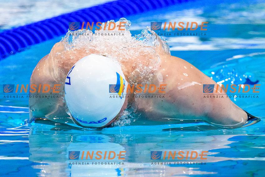 Lyubomyr LEMESHKO UKR<br /> 50m Butterfly Men Preliminary   <br /> London, Queen Elizabeth II Olympic Park Pool <br /> LEN 2016 European Aquatics Elite Championships <br /> Diving  <br /> Day 08 16-05-2016<br /> Photo Andrea Staccioli/Deepbluemedia/Insidefoto