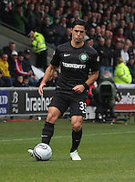 Beram Kayal in the St Mirren v Celtic Clydesdale Bank Scottish Premier League match played at St Mirren Park, Paisley on 20.10.12.