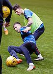 Andy Halliday and Jordan Thompson