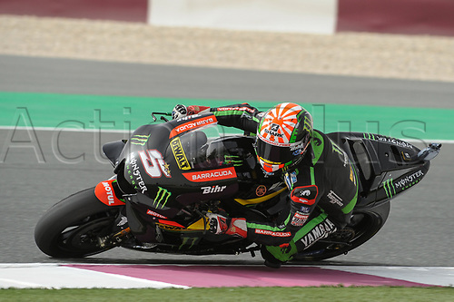 17th March 2018, Losail International Circuit, Lusail, Qatar; Qatar Motorcycle Grand Prix, Saturday qualifying; Johann Zarco (Monster Yamaha tech3)