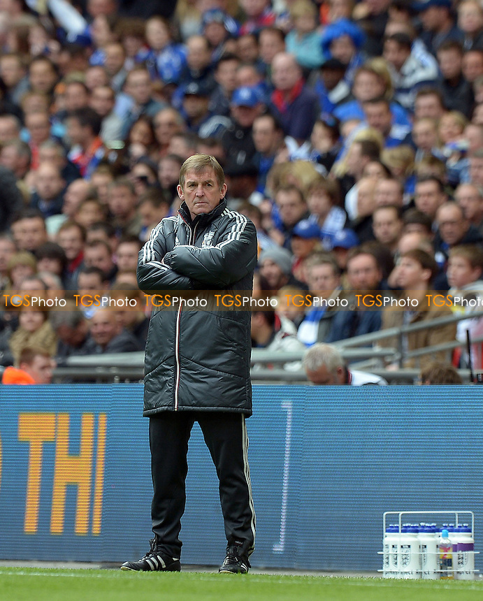Liverpool Manager Kenny Dalglish - Chelsea vs Liverpool - FA Challenge Cup Final at Wembley Stadium, London - 05/05/2012 - MANDATORY CREDIT: Martin Dalton/TGSPHOTO - Self billing applies where appropriate - 0845 094 6026 - contact@tgsphoto.co.uk - NO UNPAID USE.