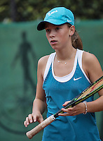 Hilversum, Netherlands, August 13, 2016, National Junior Championships, NJK, Anouk Koevermans (NED)<br /> Photo: Tennisimages/Henk Koster