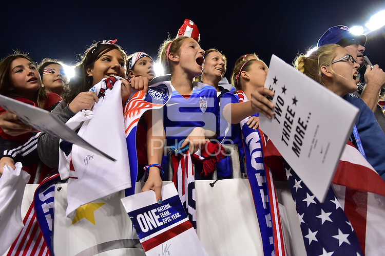 Tampa Bay, FL. - March 3, 2016: The USWNT defeat England 1-0 in the 2016 SheBelieves Cup at Raymond James Stadium.