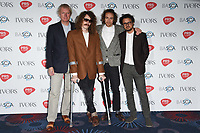 Mystery Jets<br /> at The Ivor Novello Awards 2017, Grosvenor House Hotel, London. <br /> <br /> <br /> &copy;Ash Knotek  D3267  18/05/2017