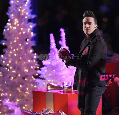 New York,NY-December 3: Prince Royce attend the 82nd annual Rockefeller Christmas Tree Lighting Ceremony at Rockefeller Center on December 3, 2014 in New York City. Credit: John Palmer /MediaPunch