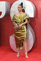 Rihanna attends the European Premiere of Ocean's 8 at Cineworld on Leicester Square in London.<br />