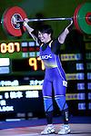 Namika Matsumoto, <br /> MAY 22, 2016 - Weightlifting : <br /> All Japan Weightlifting Championship 2016 Women's -63kg <br /> at Yamanashi Municipal Gymnasium, Yamanashi, Japan. <br /> (Photo by AFLO SPORT)