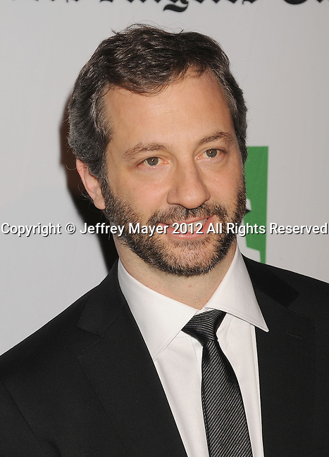 BEVERLY HILLS, CA - OCTOBER 22: Judd Apatow arrives at the 16th Annual Hollywood Film Awards Gala presented by The Los Angeles Times held at The Beverly Hilton Hotel on October 22, 2012 in Beverly Hills, California.