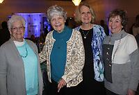 NWA Democrat-Gazette/CARIN SCHOPPMEYER Earlene Henry (from left), Joyce Johnston, Jenna Johnston and Gaye Cypert help support Arkansas Children's