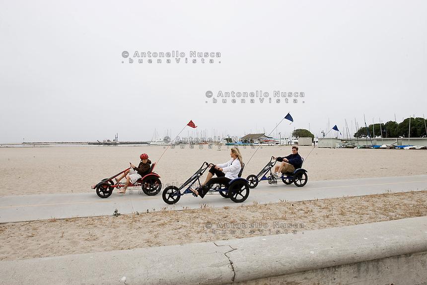Santa Barbara California, June 18, 2007. Normal life in Santa Barbara.