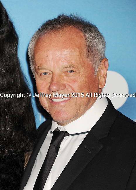 LOS ANGELES, CA - MAY 30: Chef Wolfgang Puck arrives at the 2015 MOCA Gala presented by Louis Vuitton at The Geffen Contemporary at MOCA on May 30, 2015 in Los Angeles, California.
