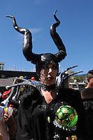 MEDELLIN -COLOMBIA-29-06-2014. El Dia Internacional del Orgullo LGBT (Lesbiana, Gay, Bisexual y Transgenero), tambien conocido como Dia Internacional del Orgullo Gay, es una serie de eventos que cada año los colectivos homosexuales celebran de forma publica para instar por la tolerancia y la igualdad de los gays, lesbianas, bisexuales y transexuales. Medellin./ The International Day of Pride LGBT (Lesbian, Gay, Bisexual and Transgender), also known as International Day of the Gay Pride, is a series of events each year that celebrate homosexual groups publicly urging for tolerance and equality of gay, lesbian, bisexual and transgender .Medellin.  Photo:VizzorImage / Luis Rios / Stringer