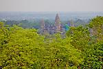 Angkor Wat Viewed From Phnom Bakheng