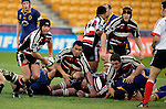 Blair Feeney gets quick second phase ball from a ruck during the  Air NZ Cup game between Counties Manukau & Otago played at Mt Smart Stadium,Auckland on the 29th of July 2006. Otago won 23 - 19.