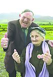 Jackie Healy-Rae, TD from the book by Don MacMonagle entitled 'Jackie - Keeping Up Appearances' published in 2002.