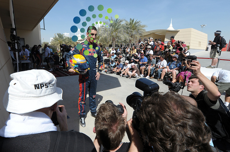 F1 GP Bahrain, Manama 12. - 14. March 2010.Sebastien Buemi (SUI),  Scuderia Toro Rosso ..Picture: Hasan Bratic/Universal News And Sport (Europe) 11 March 2010.