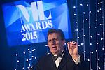 © Joel Goodman - 07973 332324 . 05/03/2015 .  Midland Hotel , Manchester , UK . Eamonn O'Neill hosting . The Manchester Legal Awards 2015 . Photo credit : Joel Goodman