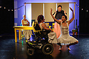 FALLING IN LOVE WITH FRIDA, by Caroline Bowditch, opens in the Lilian Baylis Studio, at Sadler's Wells. Picture shows: Caroline Bowditch,  Nicole Guarino (front), Welly O'Brien, Yvonne Strain (back)