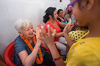 Nepal, Kathmandu. OlgaPuri Children's Village opening.