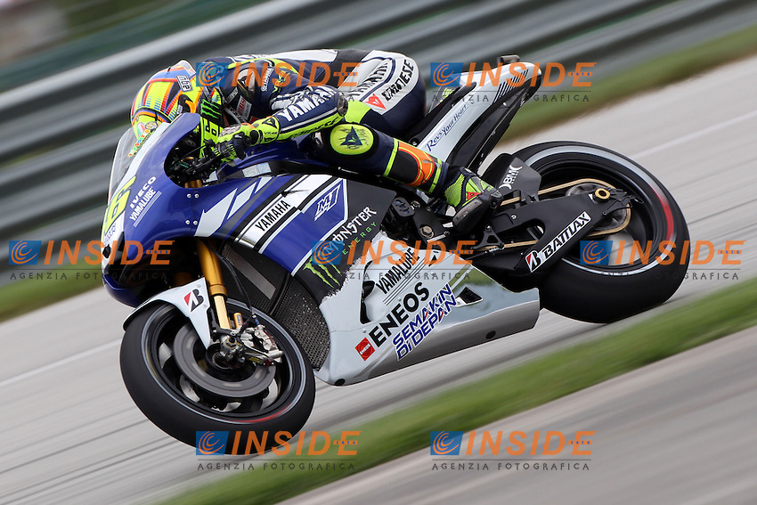 16-08-2013 Indianapolis (USA)<br /> Motogp world championship<br /> in the picture: Valentino Rossi - Yamaha factory team<br /> Foto Semedia / Insidefoto