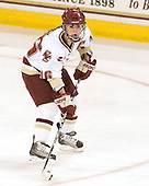 Kelli Stack (BC - 16) - The Boston College Eagles defeated the Boston University Terriers 2-1 in the opening round of the Beanpot on Tuesday, February 8, 2011, at Conte Forum in Chestnut Hill, Massachusetts.