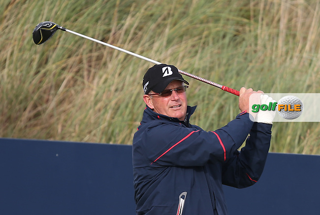 Sandy Lyle (SCO) during R3 at Kingsbarns of the 2014 Alfred Dunhill Links Championship, The Old Course, St Andrews, Fife, Scotland. Picture:  David Lloyd / www.golffile.ie