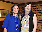 Emma Hoey and Shirley Reynolds pictured at A Surprise Engagement presented by Louth Macra in the Valley Inn. Photo:Colin Bell/pressphotos.ie