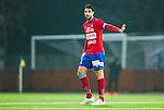 S&ouml;dert&auml;lje 2014-11-09 Fotboll Kval till Superettan Assyriska FF - &Ouml;rgryte IS :  <br /> &Ouml;rgrytes George Mourad gestikulerar under matchen mellan Assyriska FF och &Ouml;rgryte IS <br /> (Foto: Kenta J&ouml;nsson) Nyckelord:  S&ouml;dert&auml;lje Fotbollsarena Kval Superettan Assyriska AFF &Ouml;rgryte &Ouml;IS portr&auml;tt portrait