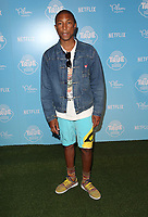 10 August 2017 - Los Angeles, California - Pharrell Williams. &quot;True And The Rainbow Kingdom&quot; Netflix Sneak Peek. <br /> CAP/ADM/FS<br /> &copy;FS/ADM/Capital Pictures