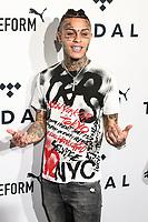 NOVA YORK, EUA, 24.10.2018 - CELEBRIDADES-EUA - Lil Skies no tapete vermelho da 4º edição do Tidal X no Barclays Center no Brooklyn na cidade de Nova York nos Estados Unidos na noite desta quarta-feira, 24. (Foto: William Volcov/Brazil Photo Press)