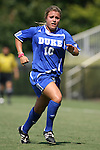 23 September 2007: Duke's CJ Ludemann. The Duke University Blue Devils defeated the Ohio State University Buckeyes 2-1 at Koskinen Stadium in Durham, North Carolina in an NCAA Division I Women's Soccer game, and part of the annual Duke Adidas Classic tournament.