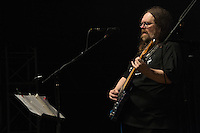 Jeff Mattson, Lead Guitarist performing with Dark Star Orchestra at The Gathering of the Vibes 31 July 2014. Main Stage Thursday Night.