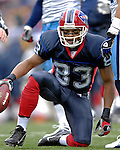 24 December 2006: Buffalo Bills wide receiver Lee Evans (83) in action against the Tennessee Titans at Ralph Wilson Stadium in Orchard Park, New York. The Titans edged out the Bills 30-29.&amp;#xA; &amp;#xA;Mandatory Photo Credit: Ed Wolfstein Photo<br />