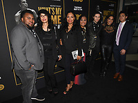 "08 May 2019 - Los Angeles, California - Ali Family. ""What's My Name: Muhammad Ali"" HBO Premiere held at Regal Cinemas LA LIVE 14. Photo Credit: Billy Bennight/AdMedia"