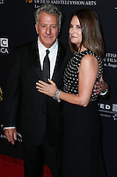 BEVERLY HILLS, CA, USA - OCTOBER 30: Dustin Hoffman, Lisa Hoffman arrive at the 2014 BAFTA Los Angeles Jaguar Britannia Awards Presented By BBC America And United Airlines held at The Beverly Hilton Hotel on October 30, 2014 in Beverly Hills, California, United States. (Photo by Xavier Collin/Celebrity Monitor)