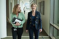 CEO Susan Desmond-Hellmann at the Bill and Melinda Gates Foundation in Seattle, Washington, USA on Wednesday, 3 June 2015. (Matt Mills McKnight for Le Monde)