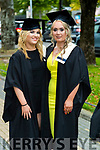 Professional Cookery graduates Rachel Malone and Kayleigh Fitzmaurice, Tralee at the Kerry College of Further Education Graduations at the Brandon Hotel on Thursday.